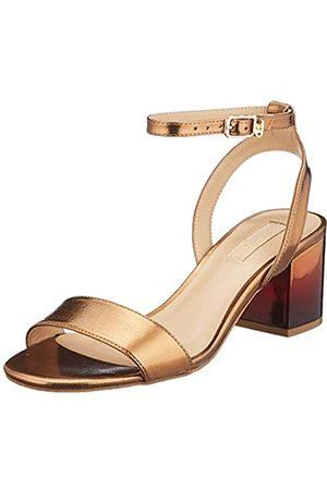 Liu Jo Shoes Women's Thelma 01-Sandal Open Toe, (Brass S1805)