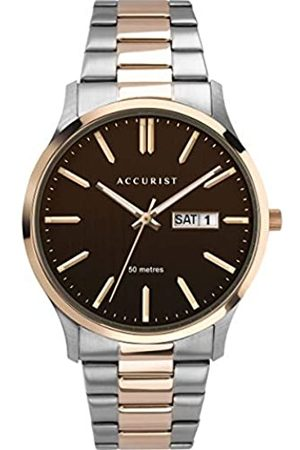 Accurist Men's Analogue Japanese Quartz Watch with Stainless Steel Strap 7304