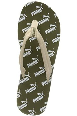 PUMA Unisex Adulto Epic Flip V2 Amplified Zapatos de Playa y Piscina, Verde (Burnt Olive-Tapioca 03)