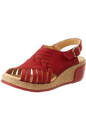 El Naturalista Women's N5018 Pleasant Leaves Open Toe Sandals, (Tibet Tibet)