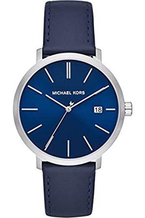 Michael Kors Unisex Adult Analogue Quartz Watch with Leather Strap MK8675