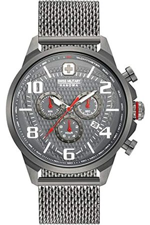 Swiss Military Mens Analogue Classic Quartz Watch with Stainless Steel Strap 06-3328.30.009