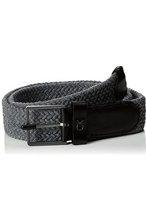 Calvin Klein Men's Leon Elastic Wool Be Belt