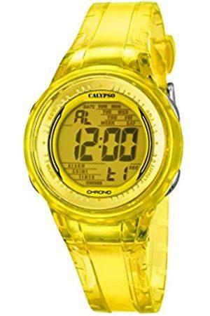Calypso Womens Digital Quartz Watch with Plastic Strap K5688/6