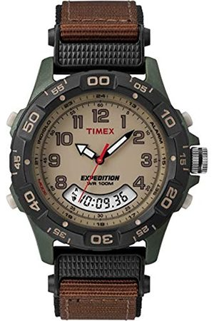 Timex Expedition Men's T45181 Quartz Watch with Dial Analogue Display and Nylon Strap