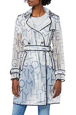 Tommy Hilfiger Women's Felicia DB Hooded RAIN Trench Coat