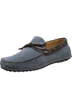 Florsheim Men's Comet Loafer Flats Bleu (Jeans Suede/Dark ) 7