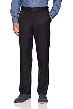 Amazon Expandable Waist Classic-Fit Flat-Front Dress Pants