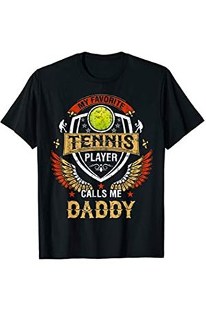 Mens T Shirt /& Ki Born To Play Tennis With Daddy Matching Father Kids Gift Set