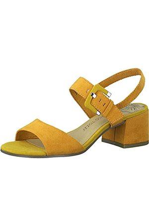 Marco Tozzi Women's 2-2-28219-24 Ankle Strap Sandals, (Mango Comb 636)