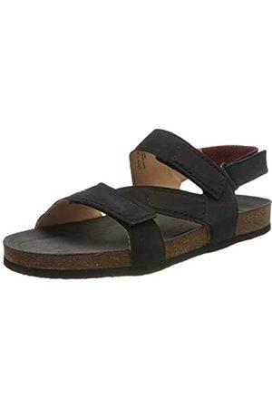 Think! Men's 686704_WOLFI Sling Back Sandals, (Schwarz 00)