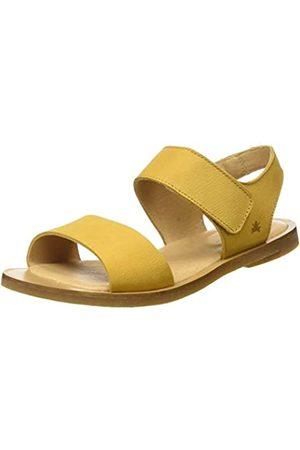 El Naturalista Women's NF30 Pleasant Tulip Open Toe Sandals, (Curry Curry)