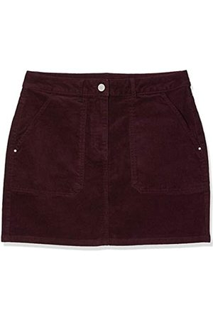 Dorothy Perkins Women's Berry Cord Mini Skirt