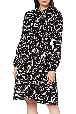 Mama Licious Women's Mlserena Lia L/S Woven Kl Dress N Comb