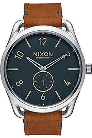 Nixon Unisex Watch C45 Leather Analog Quartz Leather A4652186 00