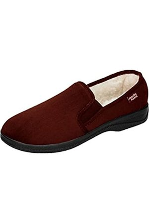 Manitu Men's 240031 Open Back Slippers, (Braun 2)