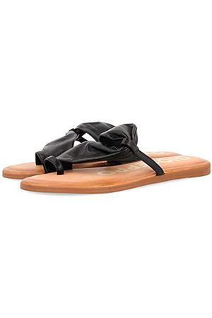 Gioseppo Women's Keene Open Toe Sandals, (Negro Negro)