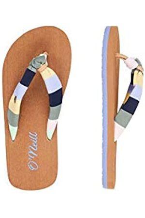 O'Neill Girls' Fg Woven Strap Sandalen Flip Flops, ( AOP W/ 6960)