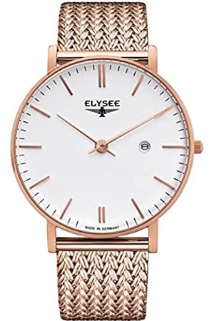 ELYSEE Unisex Adult Analogue Quartz Watch with Stainless Steel Strap 98004M