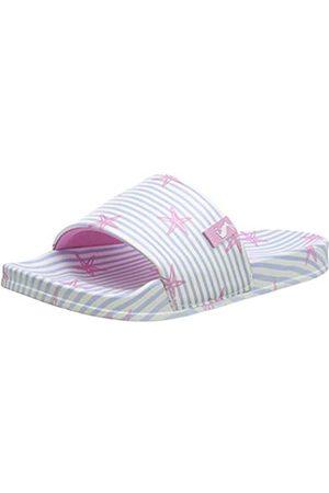 Joules Women's Poolside Open Toe Sandals, ( Starfish Stripe Blstarfstp)