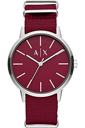 Armani Quartz Watch with Nylon Strap AX2711