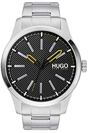 HUGO Men's Analogue Quartz Watch with Stainless Steel Strap 1530147