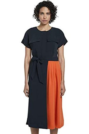 TOM TAILOR mine to five Women's Kontrastfarben Business Casual Dress