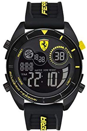 Scuderia Ferrari Men's Digital Quartz Watch with Silicone Strap 0830744