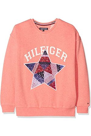 Tommy Hilfiger Girl's Star Patch Crew Neck Sweatshirt