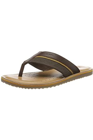 Geox Men's U Artie A Flip Flops, (Coffee C6009)