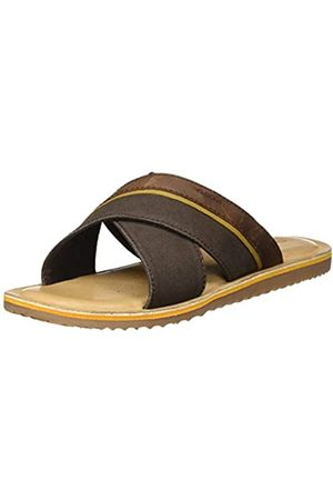 Geox Men's U Artie B Flip Flops, (Coffee C6009)