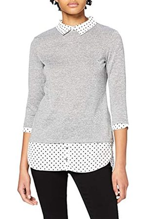 Dorothy Perkins Women's Spot 2in1 Shirt Blouse