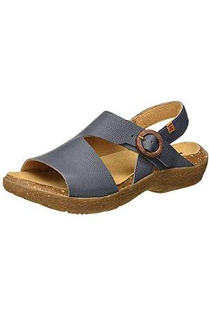 El Naturalista Women's N5700 Soft Grain WAKATIWAI Open Toe Sandals, (Vaquero Vaquero)