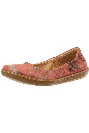 El Naturalista Women's N5300F Fantasy Coral Closed Toe Ballet Flats, (CINAMON CINAMON)