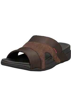 FitFlop Freeway III, Men's Slippers, (Chocolate)