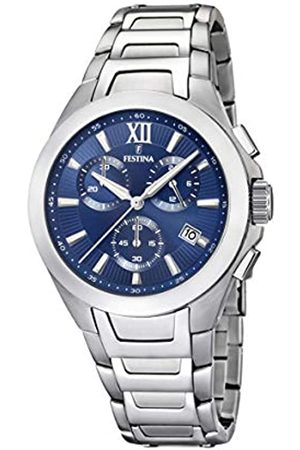 Festina Unisex Adult Chronograph Quartz Watch with Stainless Steel Strap F16678/8