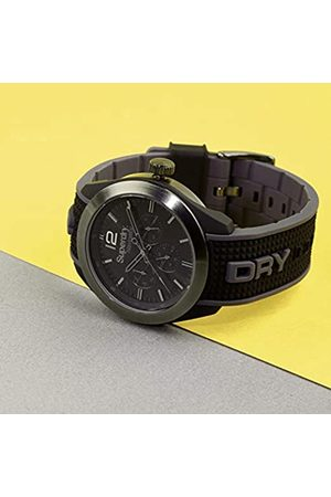Superdry Mens Analogue Quartz Watch with Silicone Strap SYG215EB