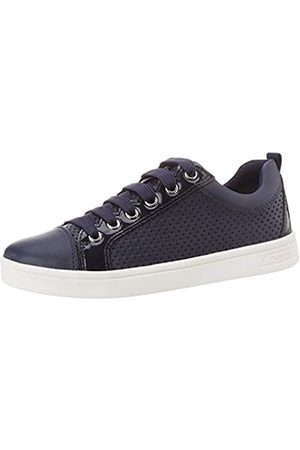 Geox Girls' J Djrock Low-Top Sneakers, (Navy C4002)