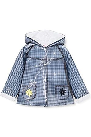 Brums Baby Girls' Trench Cerato Vichy Fod.Jersey Waterproof Jacket
