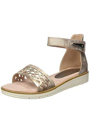 Marco Tozzi Women's 2-2-28601-24 Ankle Strap Sandals, (Rose Metallic 592)