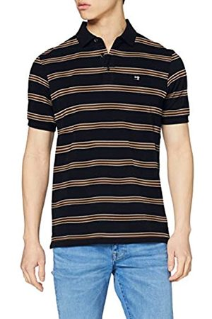 Scotch&Soda Men's Colourful Striped Pique Polo Shirt