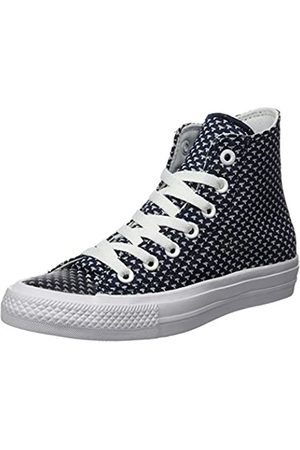 Converse Women's Chuck Taylor All Star Ii High Hi-Top Trainers, (Blau/Weiß Blau/Weiß)