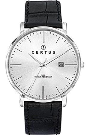 Certus 611034 611034 - Watch Strapsmen'sLeatherBand Colour: BlackBuckle