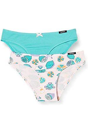 Skiny Girl's Mädchen Fancy Summer Rio Slip 2er Pack Knickers