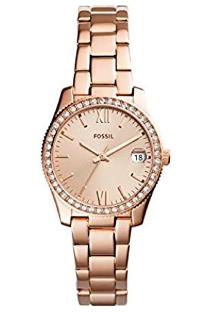 Fossil Women's Analogue Quartz Watch with Stainless Steel Strap ES4318