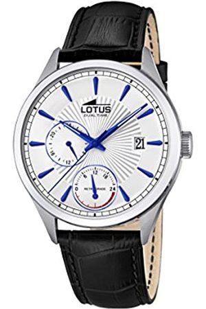 Lotus Mens Multi dial Quartz Watch with Leather Strap 18577/2