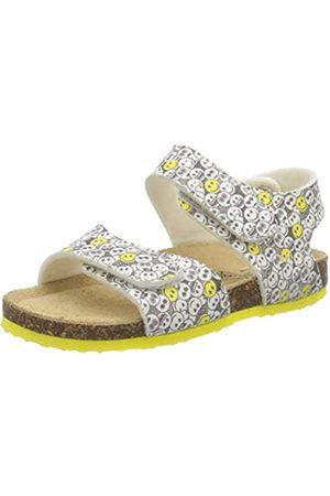 Primigi Boys Sandalo Bambino Open Toe Sandals, (Bianco-Nero 5425322)