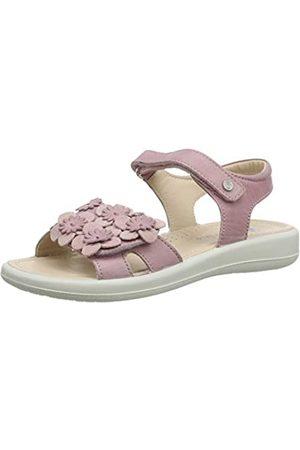 Naturino Girls Capri Ankle Strap Sandals, (ROSA 0M02)