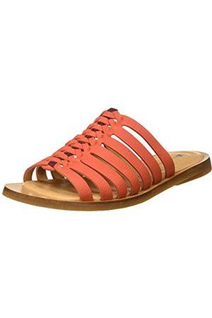 El Naturalista Women's N5189 Pleasant Tulip Open Toe Sandals, (Coral Coral)