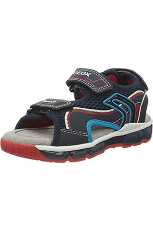 Geox Boys' J Sandal Android B Open Toe, (Navy/ C0735)